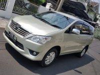 Jual Toyota Kijang Innova G Manual Bensin 2012 Mulus Terawat