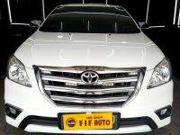Jual Toyota kijang Innova 2.0 G Autometic bensin 2015 Putih metalik