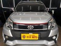 Jual Toyota Rush 1.5 S Autometic TRD Ultimo 2017 silver metalik