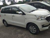 Dijual Toyota Avanza 1.3 M/T type G tahun 2017 putih mulus