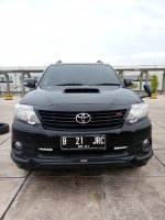 Jual Toyota fortuner vnt trd sportivo G diesel matic 2015 hitam