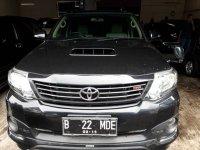 Jual Toyota: Fortuner TRD VNT 2014 Hitam Gress Istimewa!