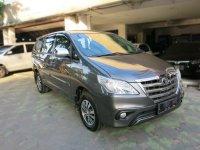 Jual Toyota Kijang Innova G Bensin Mt 2015