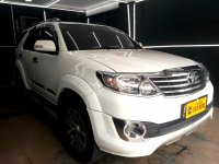 Jual Toyota Fortuner 2.7 G Luxury AT 2013 Bensin