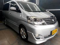 Toyota Alphard 2.4 V AT 20107 Silver