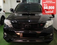 Jual Toyota: FORTUNER TRD DIESEL AUTOMATIC BLACK 20175 SPECIAL CONDITION, KM 68000.