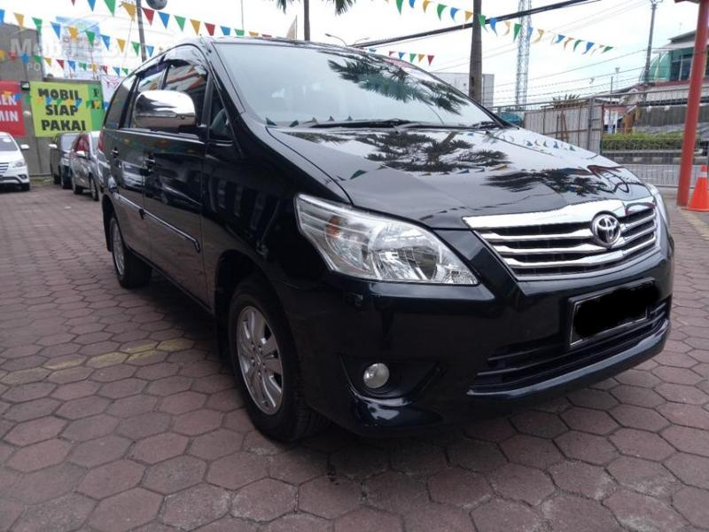 Toyota Kijang Innova G Hitam Tahun 2013 Mobilbekas Com