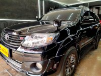 Jual Toyota Fortuner 2.7 G Luxury AT 2015 Hitam