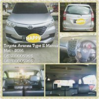 Jual Toyota Avanza Type E Manual th 2016