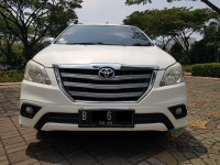 Jual Toyota: Grand Innova 2.4 G Diesel AT Putih 2014