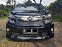 Jual Toyota: Vellfire Z Audioless Hitam 2013