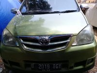 Dijual Toyota Avanza G Hijau Metalik 2010