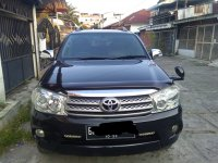 Jual Toyota Fortuner 2.0 G Lux AT Matic Hitam 2008