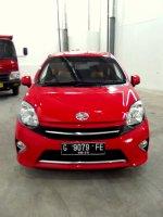 Jual Toyota Agya G Matic tahun 2015 warna merah