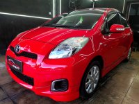 Jual Toyota yaris 1.5 E AT 2012 Merah Metalik