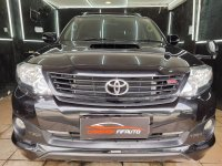 Jual Toyota Fortuner 2.5 G TRD AT 2014 Hitam
