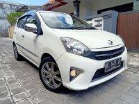 Jual Toyota: Agya G 1.0 Matik th 2013 asli DK putih Low km (34.000 km)