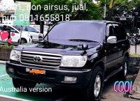 Jual Toyota Land cruiser VX 100 2001 non airsus builtup Australia