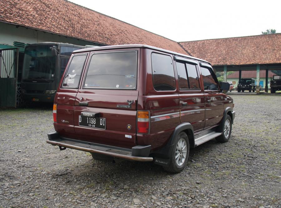 Toyota Kijang Super Kf 42 Short 1996 Manual Original Antik Terawat