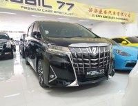 Jual Toyota Alphard G atpm 2018