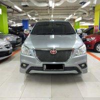 Jual Toyota kijang Innova G  Mt 2015 silver