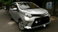 Dijual cepat  Toyota Calya G matic silver 2016 mulus pemakaiBU damai