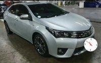 Jual Toyota Corolla Altis A/T tahun 2014 warna Silver.