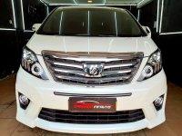 Jual Toyota Alphard 2.4 S AT 2012 Putih Mutiara