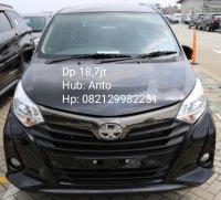 Jual Toyota: DP 18,7JT CALYA G MANUAL TAHUN 2019 WARNA HITAM