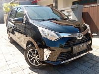 Jual Toyota Calya G Manual th 2016 asli Bali Hitam Mulus irit sekali
