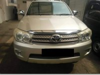 Toyota: Dijual Cepat Fortuner 2009 G Luxury