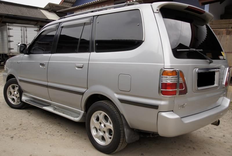 Di jual cepat mobil Toyota Kijang LGX matic 2002 warna ...
