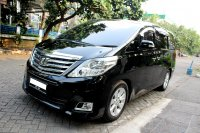 Jual Toyota: ALPHARD G PREMIUM SOUND AT HITAM 2012