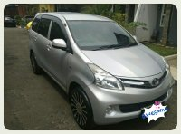 Jual 2012 Toyota All New Avanza 1.3 E MPV Manual Silver Metalic