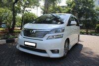 Jual Toyota Vios: VELLFIRE Z AUDIOLESS PUTIH 2011