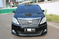 Jual TOYOTA ALPHARD S ATPM AUDIOLESS AT 2010 HITAM