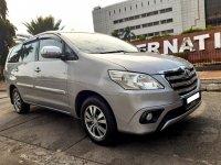 Jual Toyota: INNOVA G BENSIN SILVER 2015