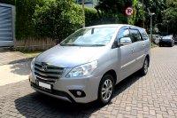 Jual Toyota: innova g at bensin 2015 silver kondisi oke banget