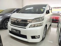Jual Toyota Vellfire V premium sound tahun 2012
