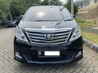 Jual TOYOTA ALPHARD G PREMIUM SOUND AT HITAM 2012 - FLASH SALE
