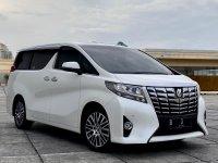 Jual Toyota Alphard G ATPM 2017  Low KM Antik