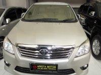 Jual Toyota: Grand Innova G DSL'12 AT Silver L.TouchScreen Mobil terawat