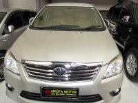 Jual Toyota: Grand Innova G DSL'12 AT Silver Pjk April'17 L.TouchScreen Mbil Traw