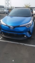 Toyota: Ready all New Chr blue satu unit saja