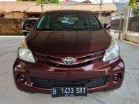 Jual Toyota Allnew Avanza E 1.3 MT Tahun 2013