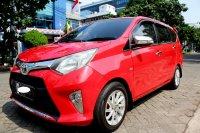 Jual Toyota: CALYA G MATIC MERAH 2017