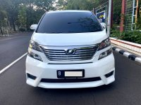 Jual Toyota: VELLFIRE Z AUDIO LESS AT 2011 PUTIH