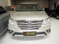 Jual Toyota: Grand Innova G BSN'14 MT Silver Pjk Juli'17 Grill BSR Mobil SGT Bagu