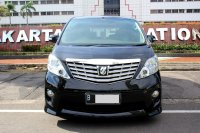Jual Toyota: ALPHARD S AUDIO LESS AT 2010 HITAM