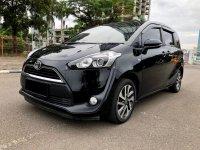 Jual Toyota: SIENTA V AT HITAM 2017